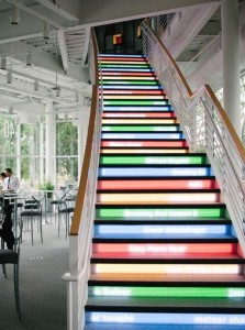 trending search staircase at google
