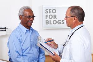 men at colonoscopy SEO for blogs