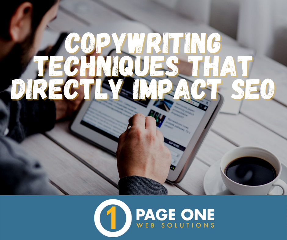 Copywriting Techniques That Directly Impact SEO